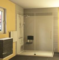 einstieg badewanne wanne dusche komfort duo wellness mit tuer pictures. Black Bedroom Furniture Sets. Home Design Ideas